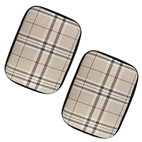 Amuzocity 1 Par de Cojines Antideslizantes para Silla de Oficina en Casa, Cojín de Asiento para Silla de Comedor, 30x40 Cm