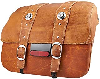 Indian Scout Genuine Leather Saddlebags Desert Tan - 2880234-05
