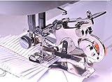 YEQIN (TM) Piedino per macchina da cucire Singer Brother, Juki, codolo basso #55705