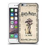 Carcasa rígida Oficial de Harry Potter Dobby House Elf Creature Chamber of Secrets II para Apple iPhone 6 y iPhone 6S