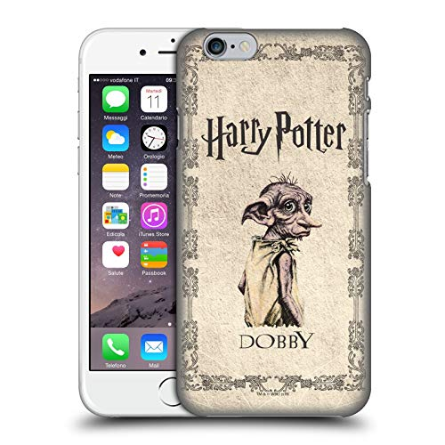 Head Case Designs Ufficiale Harry Potter Creatura Dobby House Elf Chamber of Secrets II Cover Dura per Parte Posteriore Compatibile con Apple iPhone 6 / iPhone 6s