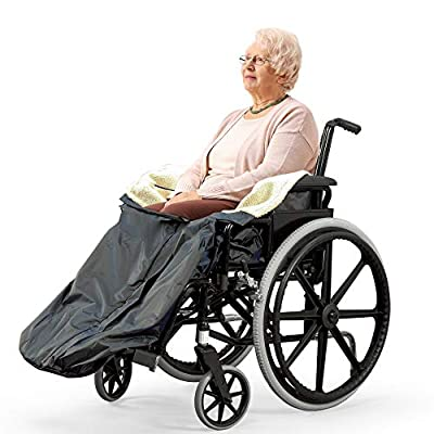 Bramble - Fleece Lined Lower Body Wheelchair Cover with Inside Pocket & Easy Zip
