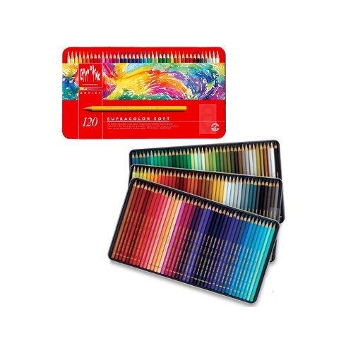 Caran D'Ache Color Pencil Set - Supracolor II Watercolor...