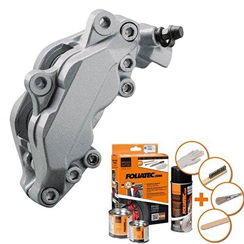 Foliatec Bremssattel - Lack - Set silber