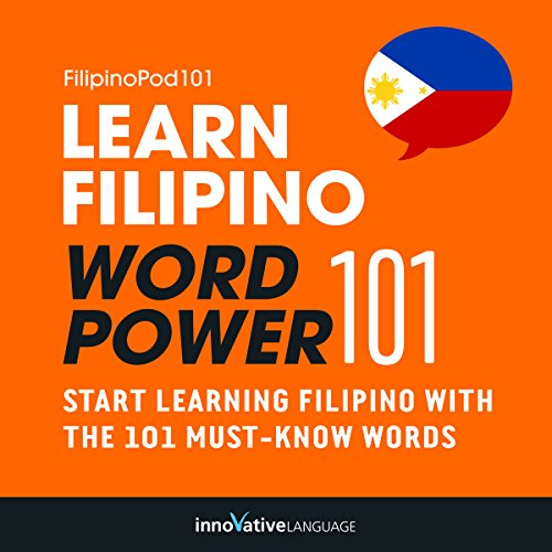 Learn Filipino - Word Power 101 audiobook cover art