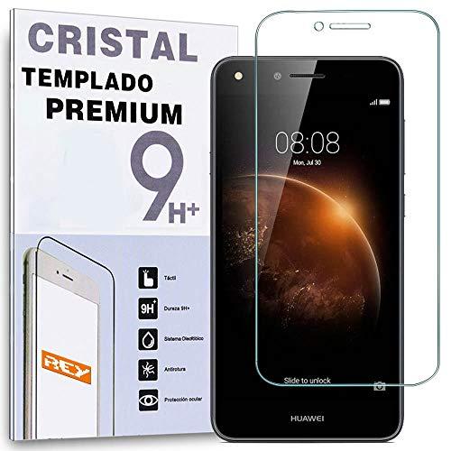 ELECTRÓNICA REY Pellicola salvaschermo per Huawei Y6 II Compact, Vetro temperato, di qualità Premium