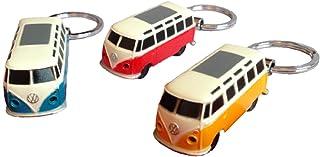 VW Bulli T1 Schlüsselanhänger mit LED Taschenlampe   Volkswagen T1 Schlüssel Ring VW Bus Schlüsselring LED mit LED Taschenlampe