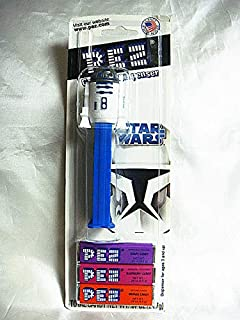 Star Wars Attack of The Clones R2D2 Pez Dispenser with Candy-New on Blister Card-Rare