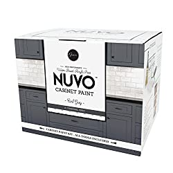 top 10 cabinet refinishing kits Nuvo Cabinet Conversion Kit, Earl Gray
