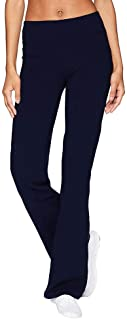 UNBER Womens Comfort Fit Yoga Pants Tummy Control Workout Non See-Through Wide Leg Bootleg Flare Pants