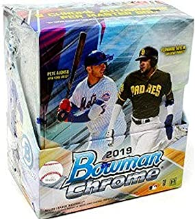 2019 Bowman Chrome MLB Baseball HOBBY box (12 pks/bx)