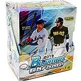 2019 Bowman Chrome MLB Baseball HOBBY box (12 pks/bx)