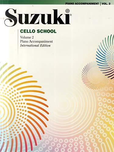 Suzuki Cello School Piano Accompaniment, Volume 2 (Revised)