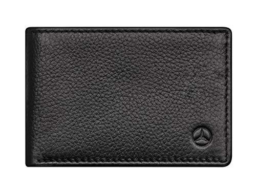 Mercedes-Benz Collection Mini portafoglio da uomo | in pelle bovina | nero