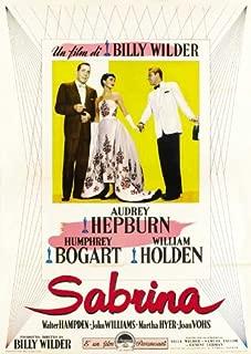 Sabrina Movie Poster (27 x 40 Inches - 69cm x 102cm) (1954) Style E -(Audrey Hepburn)(Humphrey Bogart)(William Holden)(Walter Hampden)(Francis X. Bushman)(John Williams)