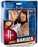 McFarlane Toys NBA Sports Picks Series 23 Action Figure James Harden (Houston Rockets) White Uniform Collector Level by NBA Basketball Sportspicks Series 23 Action Figures