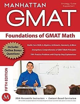 Foundations of GMAT Math (Manhattan Prep GMAT Strategy Guides) by [Manhattan GMAT]