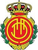 Real Mallorca FC Spain Soccer Football Alta Calidad De Coche De Parachoques Etiqueta Engomada 10 x 12 cm
