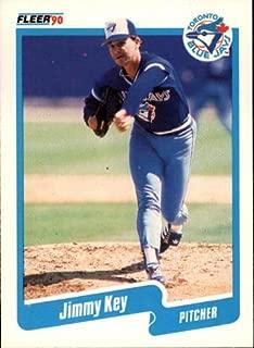 1990 Fleer Baseball Card #85 Jimmy Key