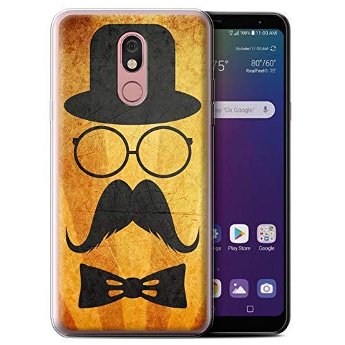 eSwish telefoonhoesje/Cover/Skin/LG-GC/Retro Moustache Collectie LG Stylo 5 Stuur/Bril