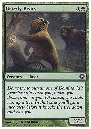Magic The Gathering - Grizzly Bears - Ninth Edition