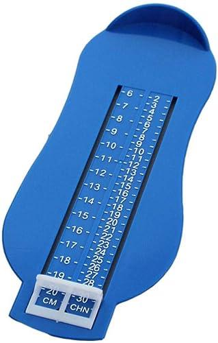 Jauge de mesure de pied professionnelle Enfants adultes Chaussures Chaussures enfants Mesure outil Sizer Calculatrice...