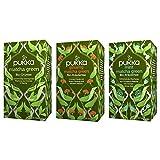 Pukka Bio-Tee Set Matcha mit den Teesorten Matcha Green, Mint Matcha und Ginseng Matcha Green....
