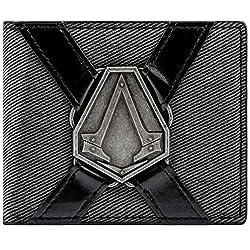 100% nuovo sigillato prodotto Design sorprendente Fantastico regalo per un fan di Assassins Creed Materiale di qualità autentica Il denaro e le carte di credito Area