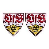 VfB Stuttgart Aufnäher Wappen 2-er Set
