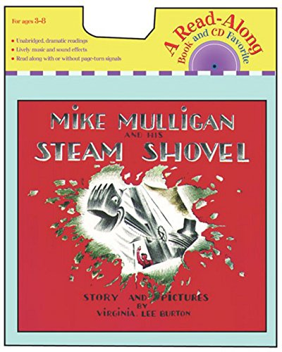 Mike Mulligan and His Steam Shovel Book & CD (Read-Along Books)の詳細を見る