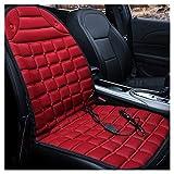 Lynn Coussin de siège chauffant 12 V pour voiture - Température de chauffage rapide - 12 V - Siège chauffant réglable - Température réglable - Siège chauffant rapide