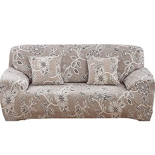 Funda elástica para sofá, Toalla de algodón, Fundas de sofá para Sala de Estar, Funda para sofá, Proteger Muebles A2, 4 plazas