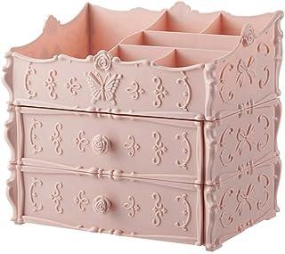 GJSN Stockage Armoires Type de Tiroirs de Rangement D'Armoires de Cuisine Stockage Multi-Couches Boîte En Plastique 2 Couc...
