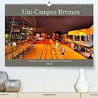 Uni-Campus Bremen (Premium, hochwertiger DIN A2 Wandkalender 2022, Kunstdruck in Hochglanz): Fotografische Ansichten der Bremer Uni, von Jens Siebert. (Monatskalender, 14 Seiten )
