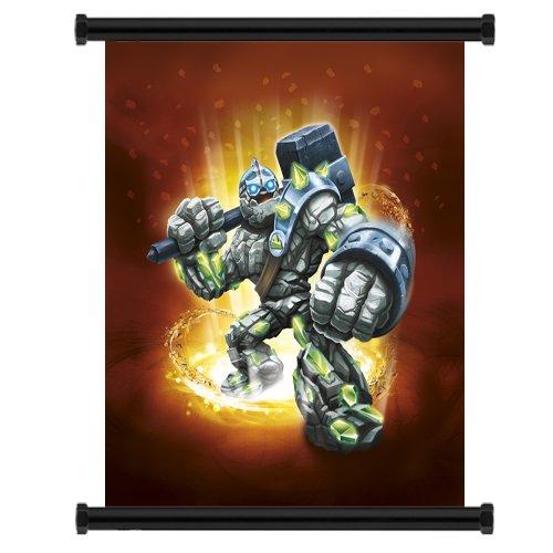 Studio C Skylanders Giants Game Fabric Wall Scroll Poster (16' x 17') Inches
