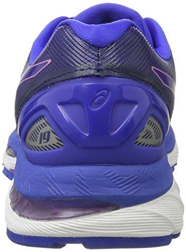 Asics Gel-Nimbus 19, Zapatillas de Running para Mujer, Azul (Blue Purple/Violet/Airy Blue), 37.5 EU