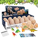 Dinosaur Toys, Dinosaur Eggs for Kids Dino Eggs Dig it up for 6 7 8 9 Years Old Kids Easter Egg Toys Gifts for Boys Girls Archaeology Science Toys for Age 6-12 Dinosaur Eggs Excavation Surprise Gifts