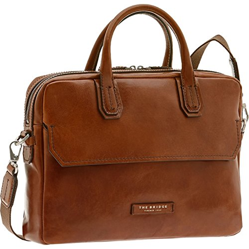 THE BRIDGE Williamsburg Briefcase M Marrone