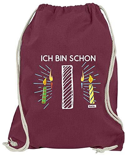 Hariz - Bolsa de Deporte con diseño de Velas de Colores, Color...