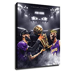 Canvas Rolls: Please note that our prints will only be rolled up. It does not appear on the frame. The image is the effect of installing the frame. HD pictures on high quality canvas, long-lasting durability and Water Proof. Vivid game scenes would b...