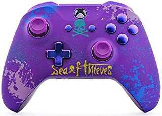 Sea of Thieves Rapid Fire Custom Modded Controller Compatible with Xbox One S/X 40 Mods for All Major Shooter Games COD (with 3.5 Jack)