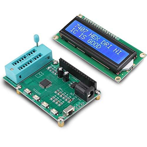 Probador Medidor Digital, Medidor De Prueba Detector IC Medidor IC Tester 74 74 40 45 Series Para Medidor Profesional Para Digital