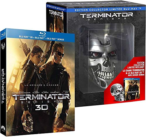 ARNOLD - Terminator Genisys [édition collector Endoskull Blu-ray 3D] (3 BLU-RAY)