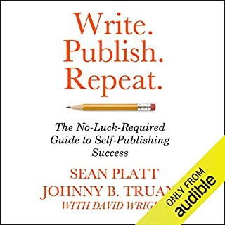 Write. Publish. Repeat. audiobook cover art