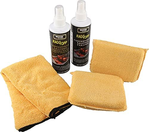 Eckler's RaggTopp Leather Cleaner/Protectant Care Kit| 01148 Cor