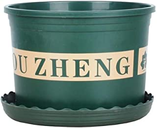 HWZBH Flower Pot, Plastic Plant Nursery Basin/Plant Container/Large Diameter Thickening Flower Pot/Suitable For Home Balco...