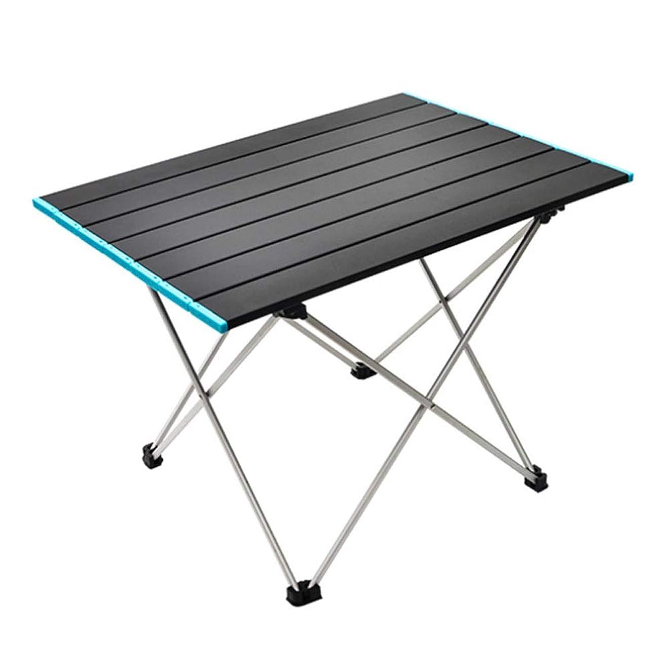 競合他社選手苦情文句解読するseiyishi アウトドアテーブル ロールテーブル 折り畳み式テーブル アルミ製 ロール式天板 アウトドアキャンプ コンパクト 軽量 耐荷重30kg 収納袋付き キャンプ テーブル SY-HWZ-02