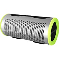 Braven Stryde 360 Wireless Bluetooth Speaker (Silver / Green) - Refurbished