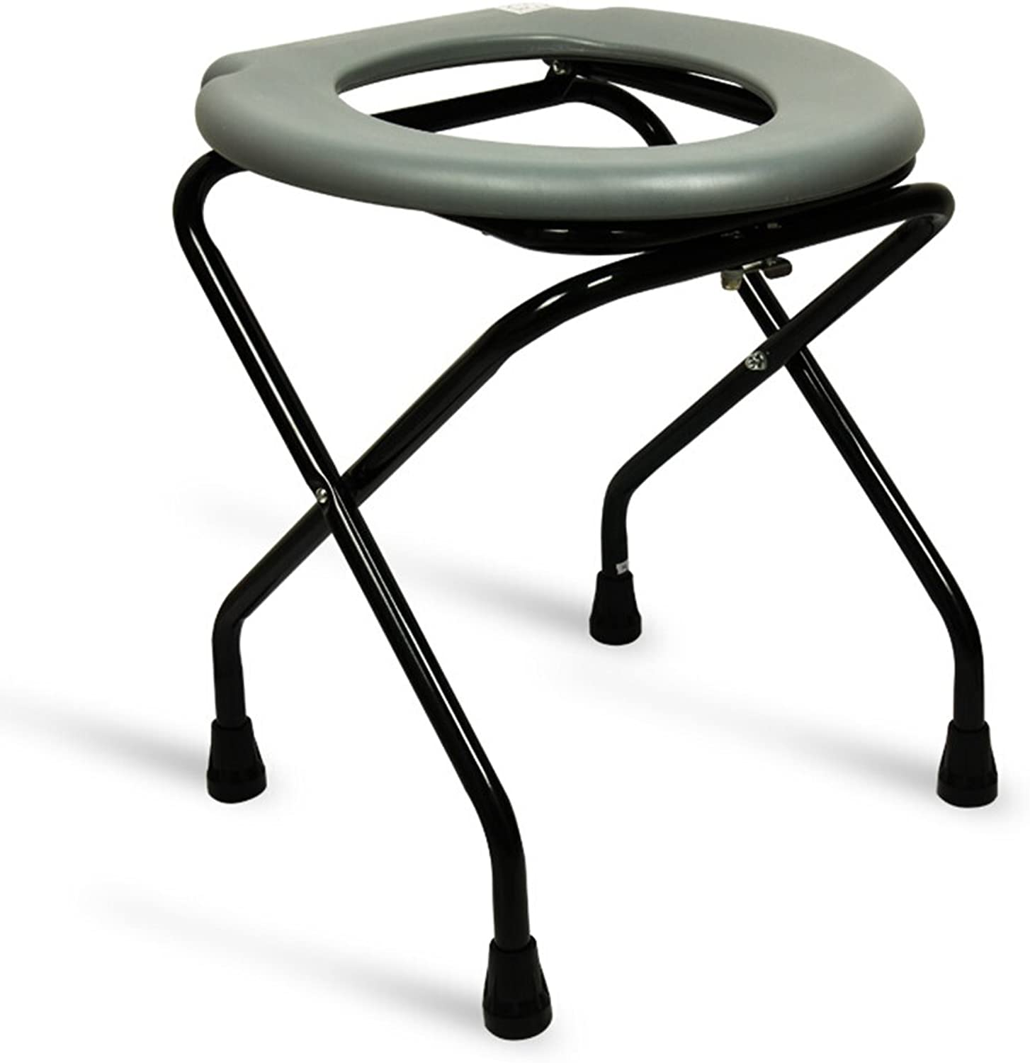 Commode chair, Collapsible Non-slip Disabled person Old man Pregnant women Potty chair