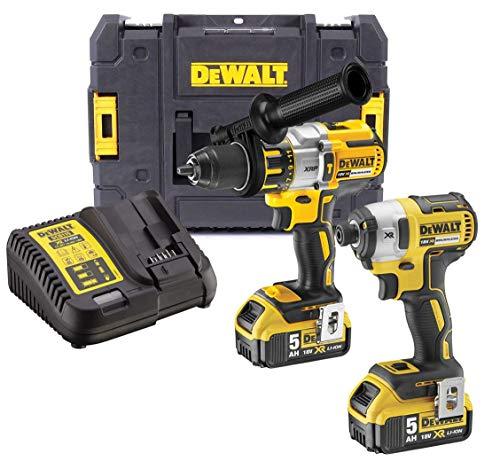 Dewalt DCK276P2T 18v Brushless DCD996 Combi Drill DCF887 Impact Driver 2 x 5.0ah